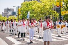 Tanz-Parade Kinsai Yosakoi lizenzfreies stockfoto