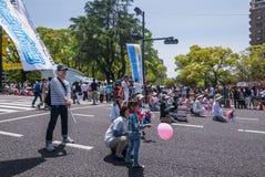 Tanz-Parade Kinsai Yosakoi lizenzfreies stockbild