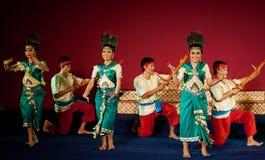 Tanz Phloy Suoy, Kambodscha Lizenzfreies Stockbild