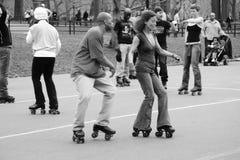 Tanz-Schlittschuhläufer Lizenzfreies Stockbild