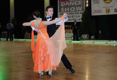 Tanz-Turnier Lizenzfreie Stockfotos