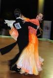Tanz-Turnier Stockbild