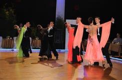 Tanz-Turnier Stockbilder