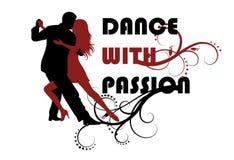 Tanz und Leidenschaft Stockfotos