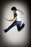 Tanz und Springen lizenzfreie stockbilder