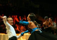 Tanz-Wettbewerb Lizenzfreie Stockfotos