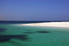 Tanzańczyk plaża Fotografia Stock