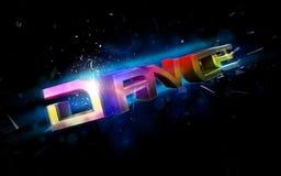 Tanzabbildung Stockfotos