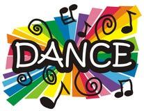 Tanzabbildung stockbild