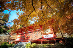 Tanzan Shrine Royalty Free Stock Image