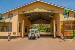 Tanzania - área de la protección de Ngorongoro fotos de archivo