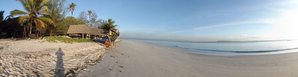 Tanzania. Beach relax sea Stock Image