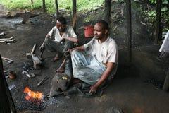 Tanzania blacksmith Royalty Free Stock Image