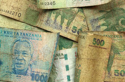 Tanzania currency Royalty Free Stock Images