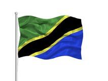 Tanzania Flag 2 Stock Image