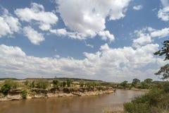 Tanzania flod Arkivbilder