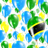 Tanzania Independence Day Seamless Pattern. Stock Images