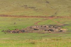 Tanzania, Ngorongoro konserwaci teren - obrazy stock
