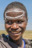 Tanzania - parque nacional inhabitent de Serengeti del Masai original @ Fotografía de archivo