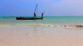 Tanzania strand lager videofilmer
