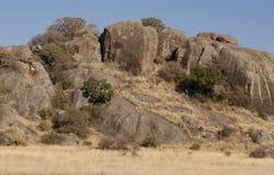 Tanzaniaanse rotsen Stock Afbeeldingen