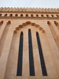 Tanzanian Church windows. With Arabic architectural influence Stock Photography