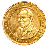 100 Tanzanian shilling coin Stock Image