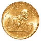200 Tanzanian shilling coin Royalty Free Stock Images