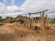 Tanzanian village royalty free stock images