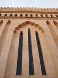 Tanzaniska kyrkliga fönster Arkivbild