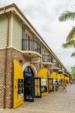 Tanzanite international am Falmouth-Kreuzfahrt-Hafen in Jamaika stockfotografie