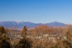 Tanzawa mountains in Kanagawa, Japan Royalty Free Stock Image