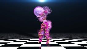 Tanzen auf den Boden stock abbildung