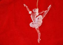 Tanzen-Ballerina Lizenzfreie Stockfotos