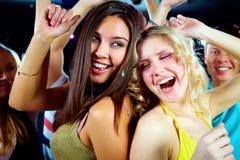 Tanzen an der Party Lizenzfreies Stockfoto