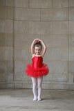 Tanzen des kleinen Mädchens Lizenzfreie Stockfotos