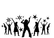 Tanzen an einer Party Lizenzfreie Stockfotografie