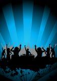 Tanzen an einer Party Stockfoto