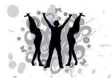 Tanzen an einer Party Stockfotografie