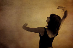 Tanzen-Frau Stockfoto