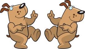 Tanzen-Hund Lizenzfreie Stockbilder