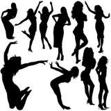 Tanzen-Mädchen 04 vektor abbildung