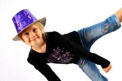 Tanzen mit einem Deckel lizenzfreies stockfoto