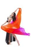 Tanzen mit Schleier Lizenzfreies Stockfoto