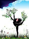 Tanzen-Mutter Natur Stockbilder