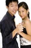 Tanzen-Paare Stockbild