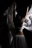 Tanzen in Semidarkness Stockfotografie