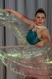 Tanzen Sie mit Flügeln im Wettbewerb Leben im Tanz in der Stadt von Kondrovo, Kaluga-Region in Russland im Jahre 2016 Lizenzfreies Stockbild