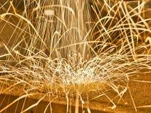 Tanzende Funken Lizenzfreies Stockfoto