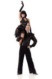 Tanzende junge Paare. Lizenzfreie Stockbilder
